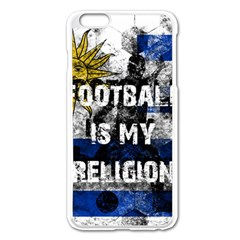 Football Is My Religion Apple Iphone 6 Plus/6s Plus Enamel White Case