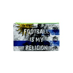 Football Is My Religion Cosmetic Bag (xs) by Valentinaart