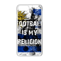 Football Is My Religion Apple Iphone 7 Plus Seamless Case (white) by Valentinaart