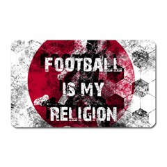 Football Is My Religion Magnet (rectangular) by Valentinaart