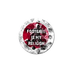 Football Is My Religion Golf Ball Marker (10 Pack) by Valentinaart