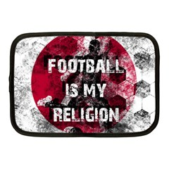 Football Is My Religion Netbook Case (medium)  by Valentinaart