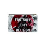 Football is my religion Cosmetic Bag (Small)  Back