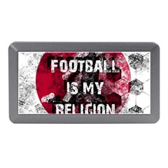 Football Is My Religion Memory Card Reader (mini) by Valentinaart
