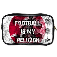 Football Is My Religion Toiletries Bags