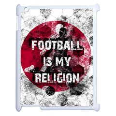 Football Is My Religion Apple Ipad 2 Case (white)