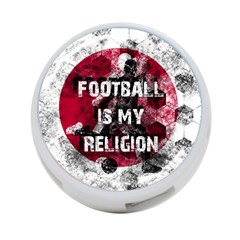 Football Is My Religion 4 Port Usb Hub (one Side) by Valentinaart