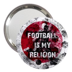 Football Is My Religion 3  Handbag Mirrors by Valentinaart