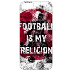 Football Is My Religion Apple Iphone 5 Classic Hardshell Case by Valentinaart