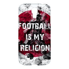 Football Is My Religion Samsung Galaxy S4 I9500/i9505 Hardshell Case by Valentinaart