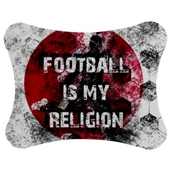 Football Is My Religion Jigsaw Puzzle Photo Stand (bow)