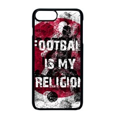 Football Is My Religion Apple Iphone 8 Plus Seamless Case (black) by Valentinaart