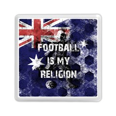 Football Is My Religion Memory Card Reader (square)  by Valentinaart