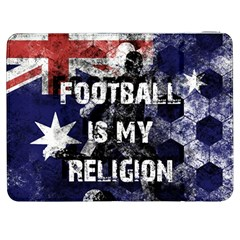 Football Is My Religion Samsung Galaxy Tab 7  P1000 Flip Case by Valentinaart