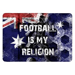 Football Is My Religion Samsung Galaxy Tab 8 9  P7300 Flip Case by Valentinaart