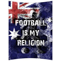 Football Is My Religion Back Support Cushion by Valentinaart