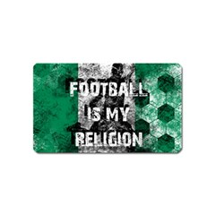 Football Is My Religion Magnet (name Card) by Valentinaart