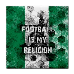 Football Is My Religion Face Towel by Valentinaart
