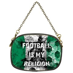 Football Is My Religion Chain Purses (one Side)  by Valentinaart
