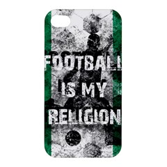 Football Is My Religion Apple Iphone 4/4s Hardshell Case by Valentinaart