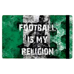 Football Is My Religion Apple Ipad 2 Flip Case by Valentinaart