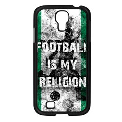 Football Is My Religion Samsung Galaxy S4 I9500/ I9505 Case (black) by Valentinaart