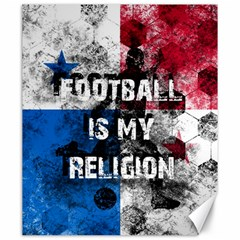Football Is My Religion Canvas 20  X 24   by Valentinaart