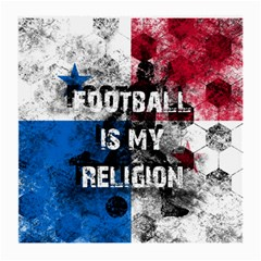 Football Is My Religion Medium Glasses Cloth (2 Side) by Valentinaart