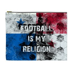 Football Is My Religion Cosmetic Bag (xl)