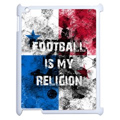 Football Is My Religion Apple Ipad 2 Case (white) by Valentinaart