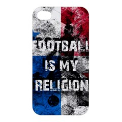 Football Is My Religion Apple Iphone 4/4s Hardshell Case