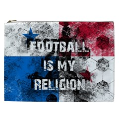 Football Is My Religion Cosmetic Bag (xxl)