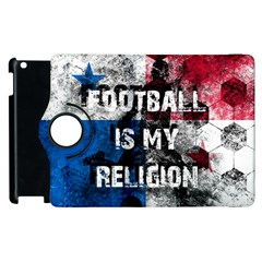 Football Is My Religion Apple Ipad 2 Flip 360 Case by Valentinaart