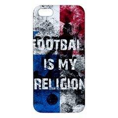 Football Is My Religion Iphone 5s/ Se Premium Hardshell Case by Valentinaart