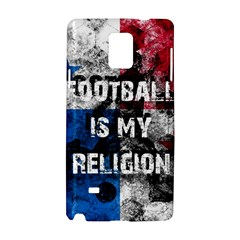 Football Is My Religion Samsung Galaxy Note 4 Hardshell Case by Valentinaart