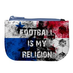 Football Is My Religion Large Coin Purse