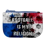 Football is my religion Large Coin Purse Front