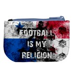 Football is my religion Large Coin Purse Back
