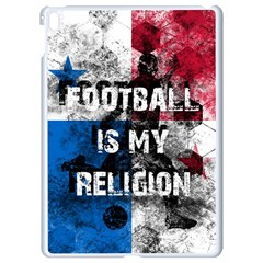 Football Is My Religion Apple Ipad Pro 9 7   White Seamless Case by Valentinaart
