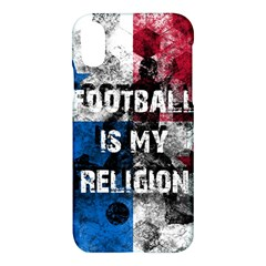 Football Is My Religion Apple Iphone X Hardshell Case by Valentinaart