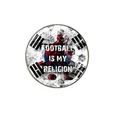 Football Is My Religion Hat Clip Ball Marker by Valentinaart