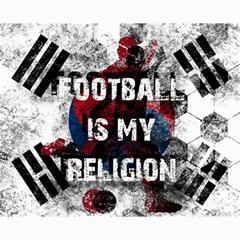 Football Is My Religion Canvas 16  X 20   by Valentinaart