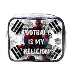 Football Is My Religion Mini Toiletries Bags by Valentinaart