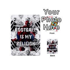 Football Is My Religion Playing Cards 54 (mini)  by Valentinaart