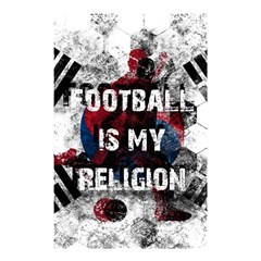Football Is My Religion Shower Curtain 48  X 72  (small)  by Valentinaart