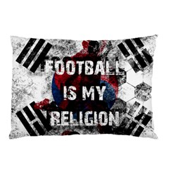 Football Is My Religion Pillow Case (two Sides) by Valentinaart
