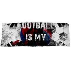 Football Is My Religion Body Pillow Case Dakimakura (two Sides) by Valentinaart