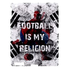 Football Is My Religion Apple Ipad 3/4 Hardshell Case by Valentinaart