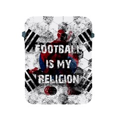 Football Is My Religion Apple Ipad 2/3/4 Protective Soft Cases by Valentinaart