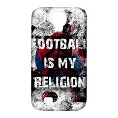 Football Is My Religion Samsung Galaxy S4 Classic Hardshell Case (pc+silicone)